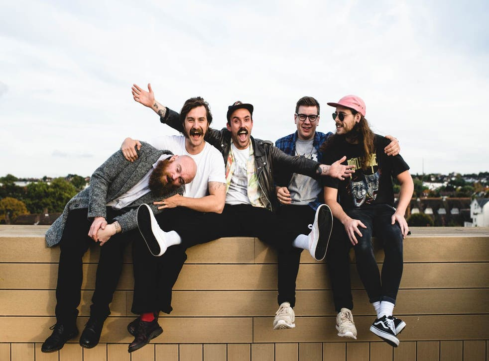 Sensitive post-punk band Idles