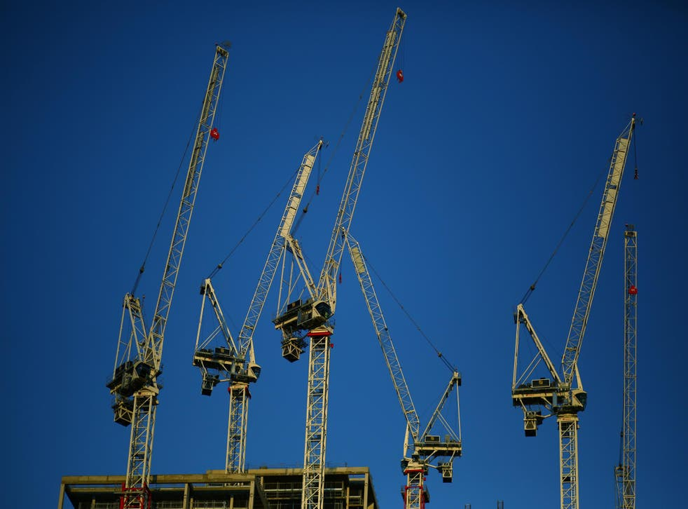Confidence among construction managers was the lowest since early 2013 according to the PMI survey