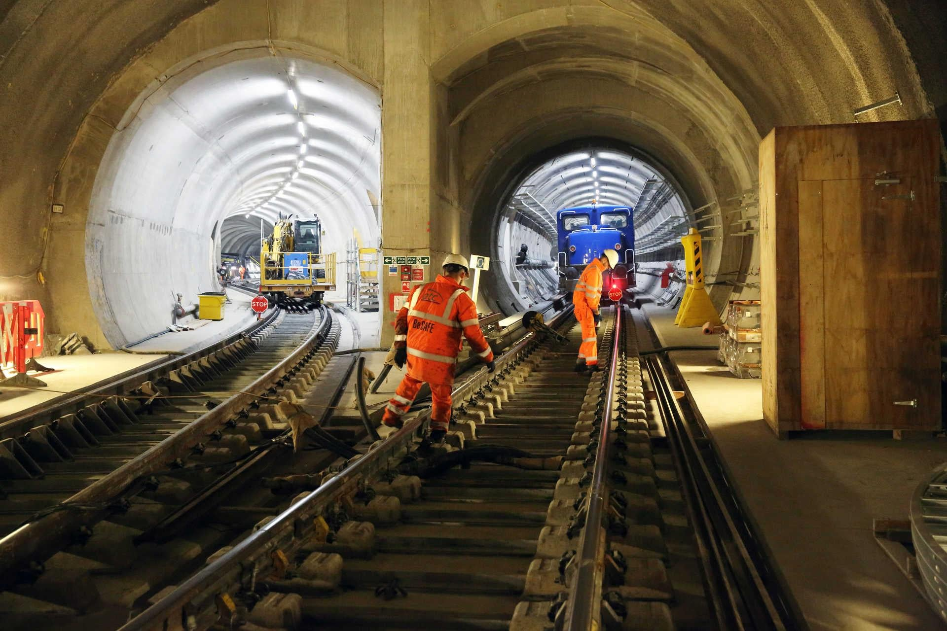 Crossrail: Government announces £350m bailout for delayed rail scheme