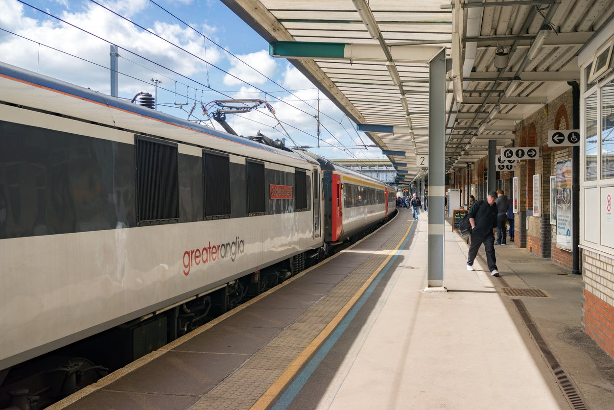 Greater Anglia to axe first class on most trains from 2020 to tackle overcrowding