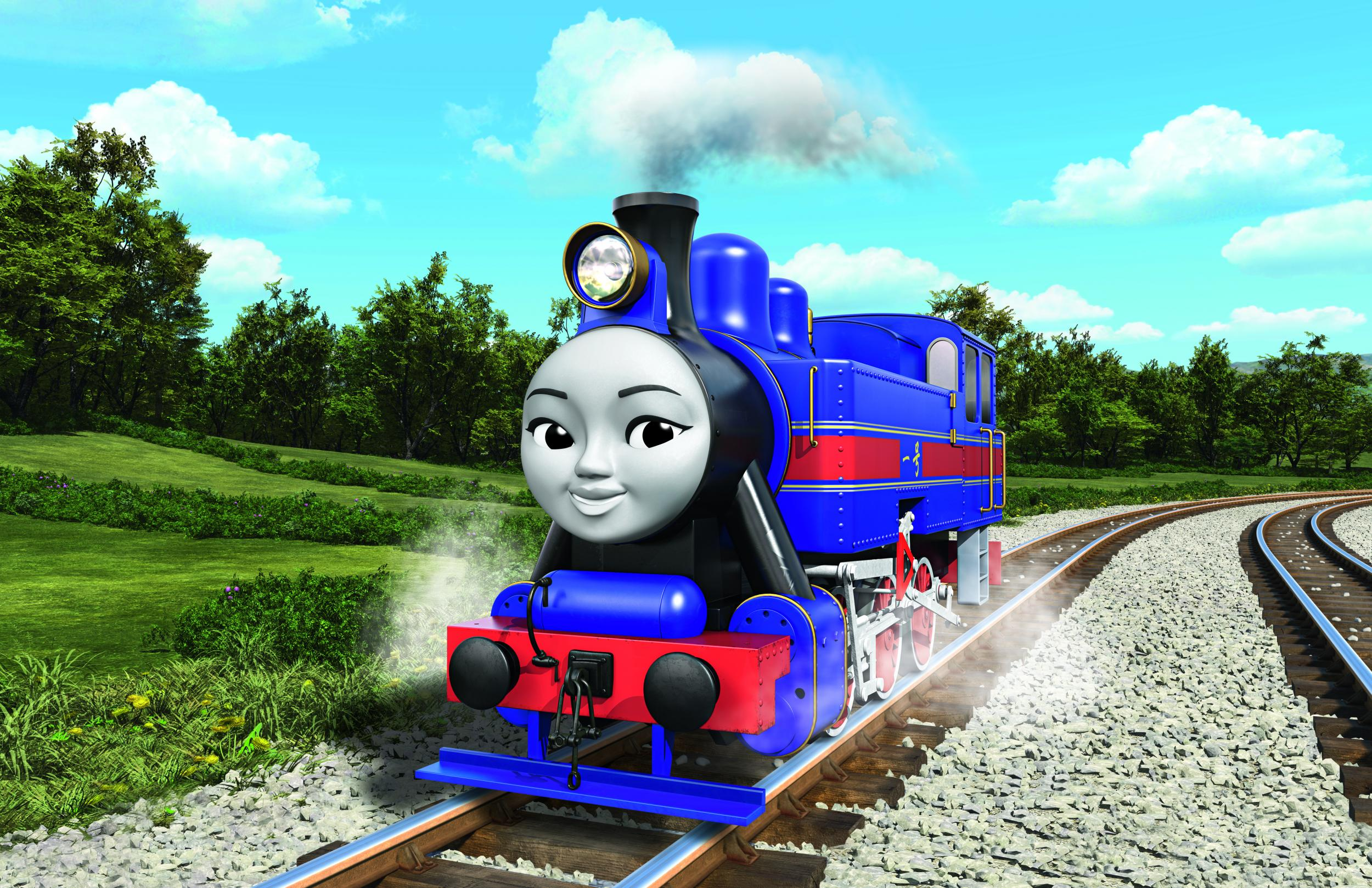 thomas the tank engine launches gender balanced multicultural steam