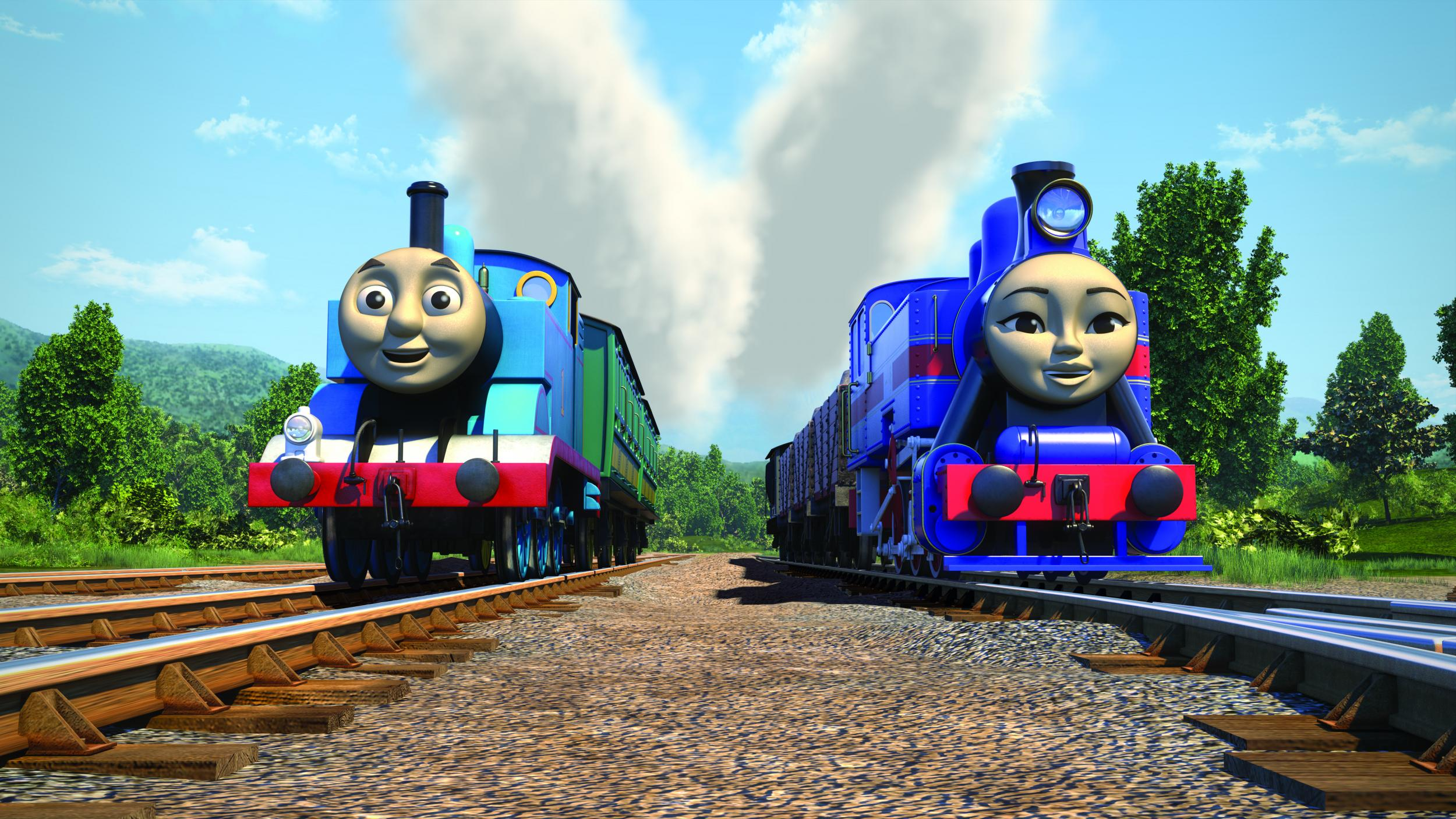 thomas the tank engine launches gender balanced multicultural steam team the independent