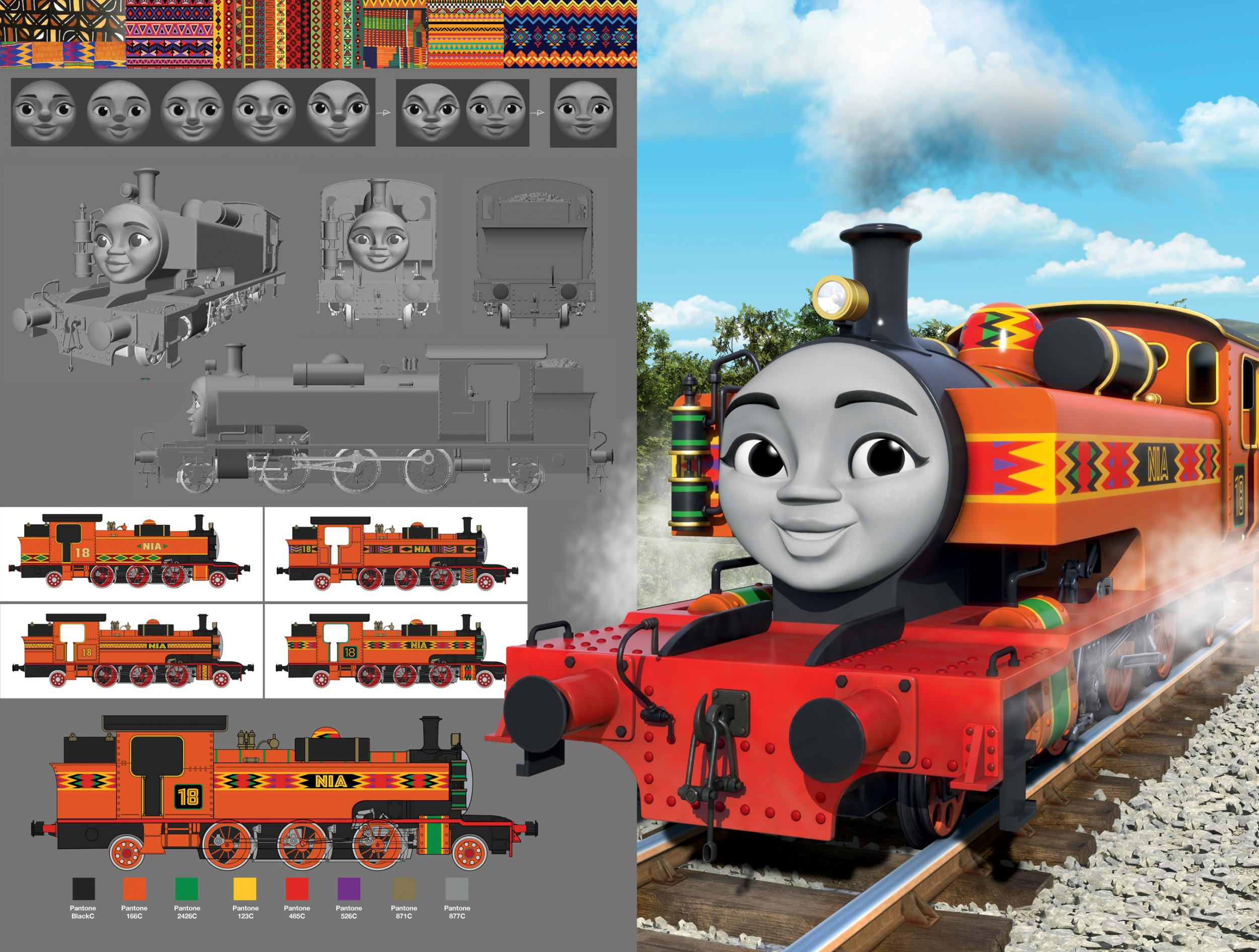 Thomas the Tank Engine launches gender-balanced, multicultural Steam Team |  The Independent