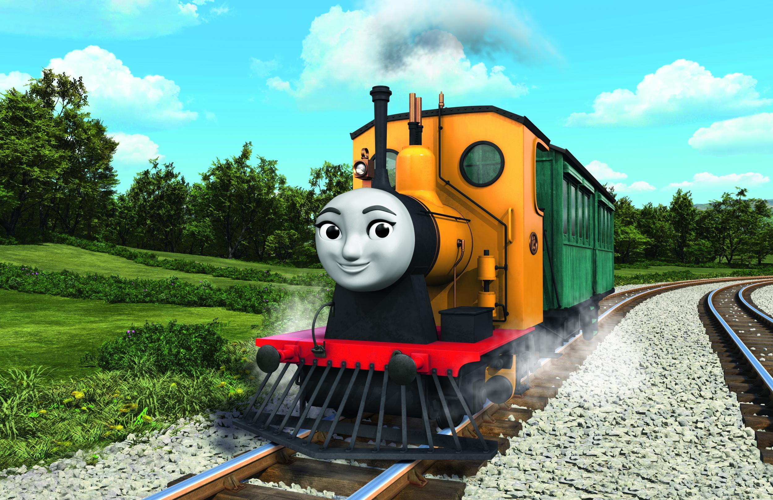 Thomas the Tank Engine launches gender-balanced