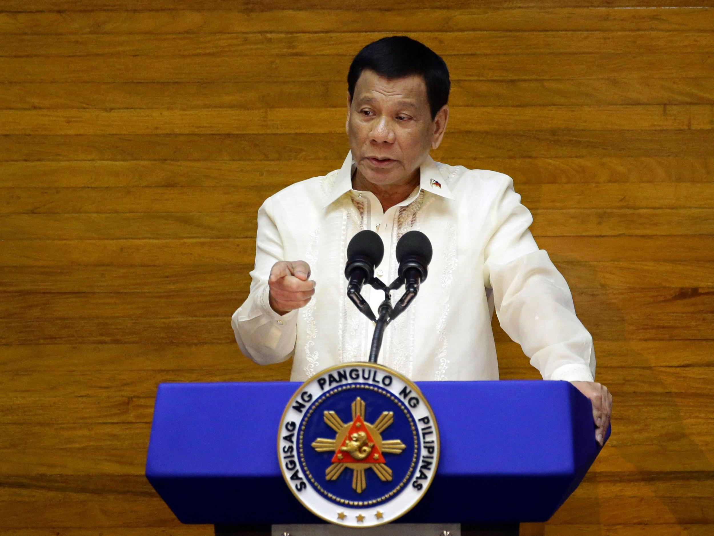 Rodrigo Duterte now 61