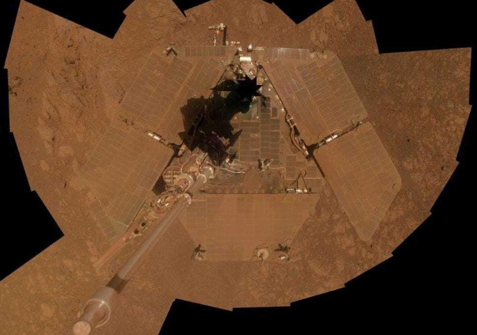 Mars dust storm clears and raises hope for lost Nasa rover