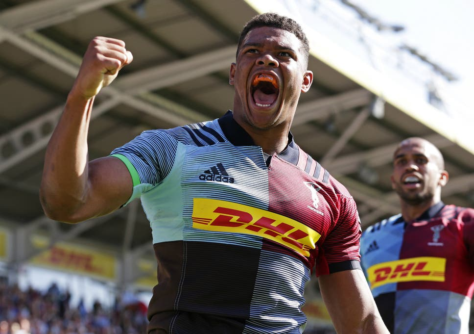 cdc385ae1f7 Harlequins kickstart the Paul Gustard era in style with 51-23 rout of Sale  Sharks to banish last-season s memories