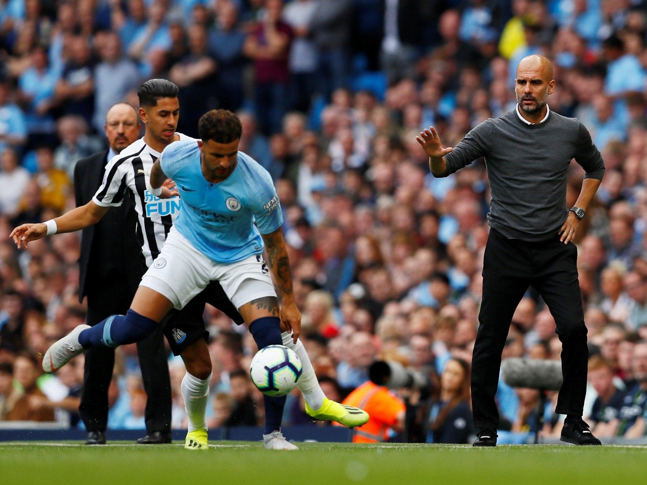 Newcastle United Manchester City live score, video stream ...