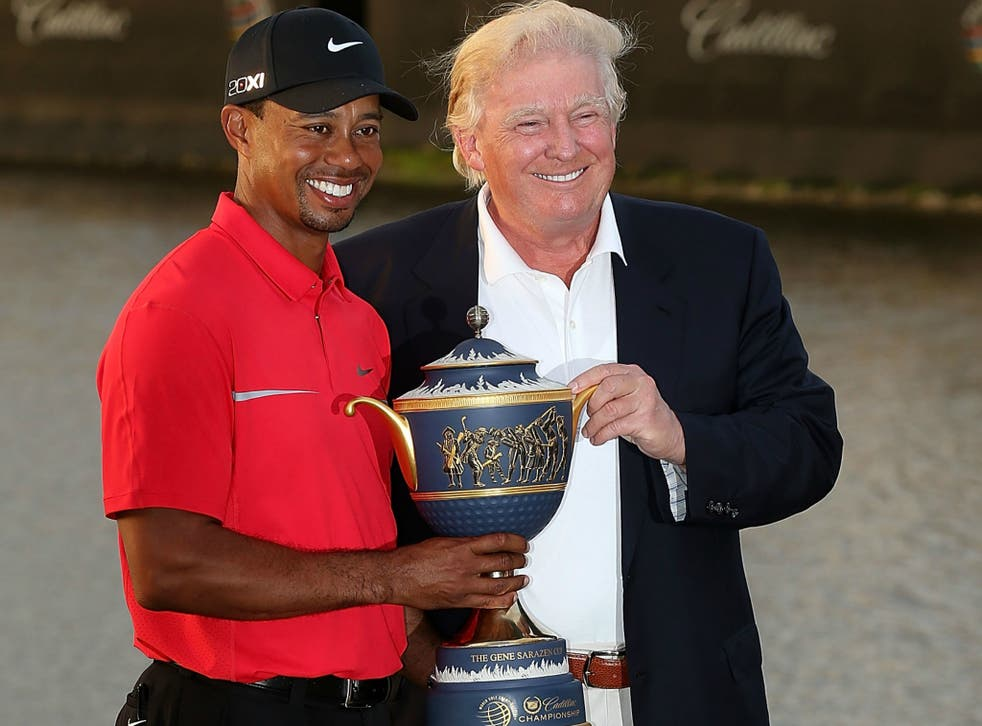 Donald Trump defends Tiger Woods comments about their friendship and respecting the office of the president in his latest tweets