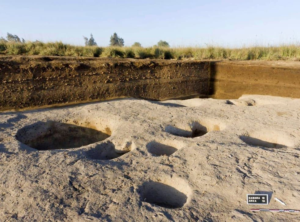 Remains dating back to before the pharaohs were discovered in Tell el-Samara.