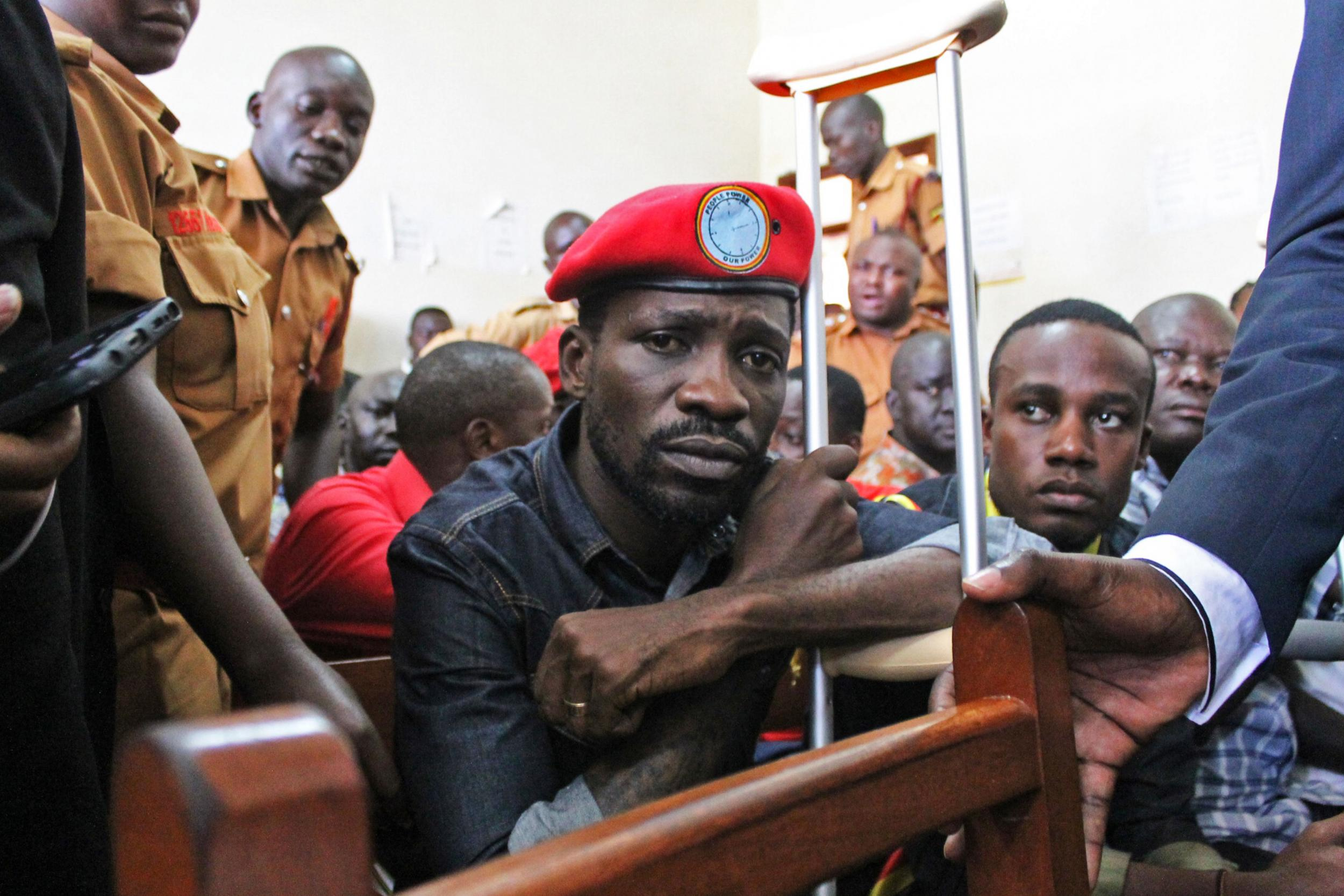 Pop star Bobi Wine arrives in US for treatment after 'brutal torture' for opposing Ugandan president