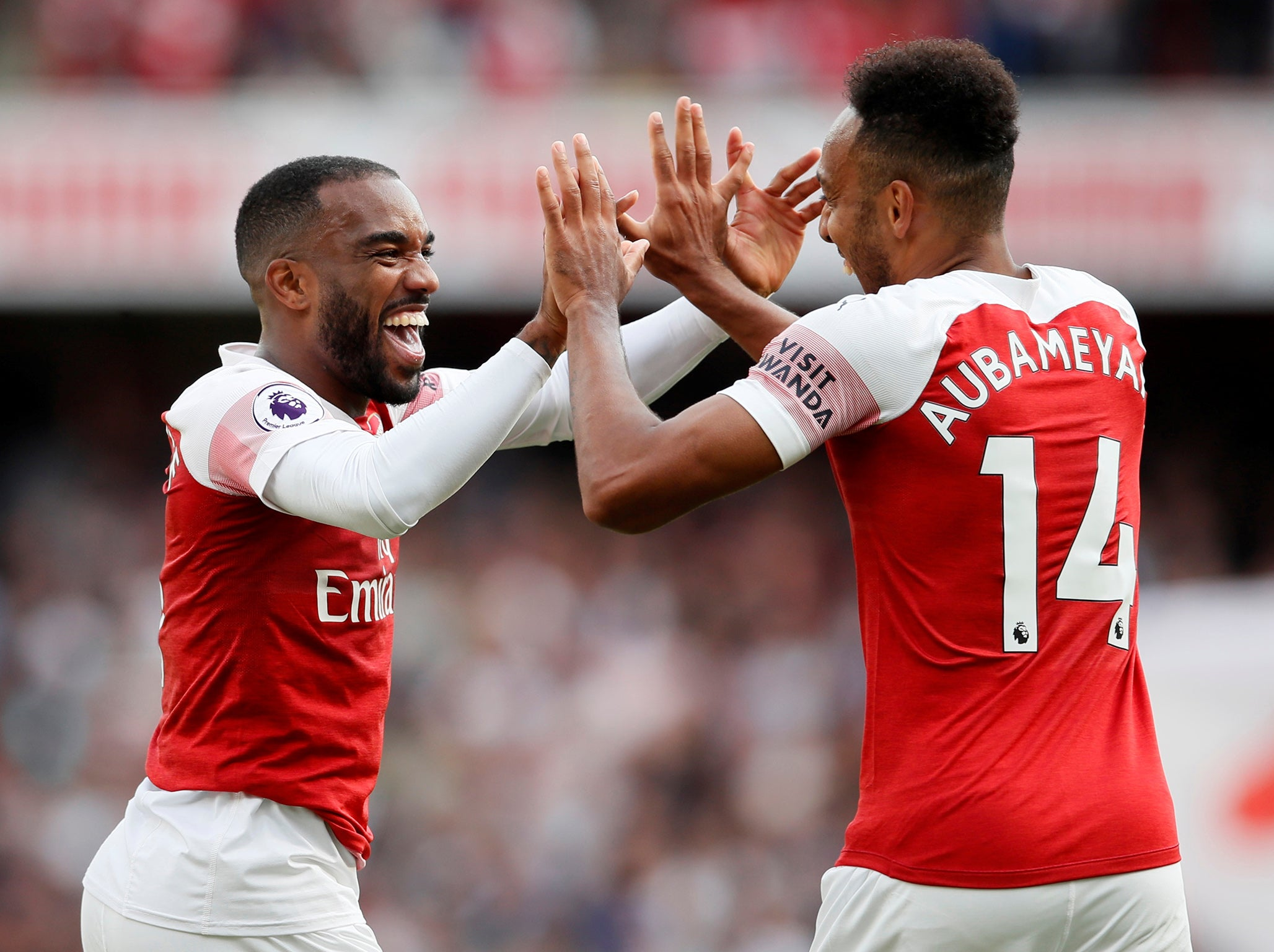 Arsenal's Alexandre Lacazette Seizes His Chance To