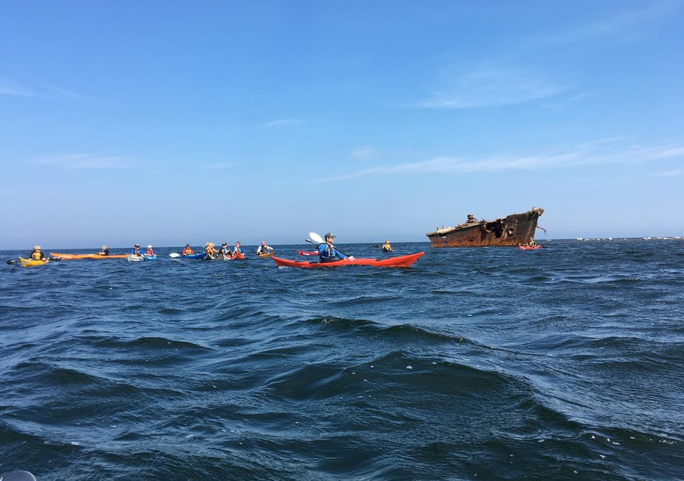 Baltic Sea kayaking: A two day, 12-mile adventure off
