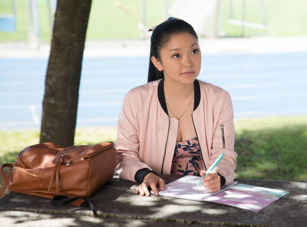 Lana Condor in the teen romance 'To All the Boys I've Loved Before'