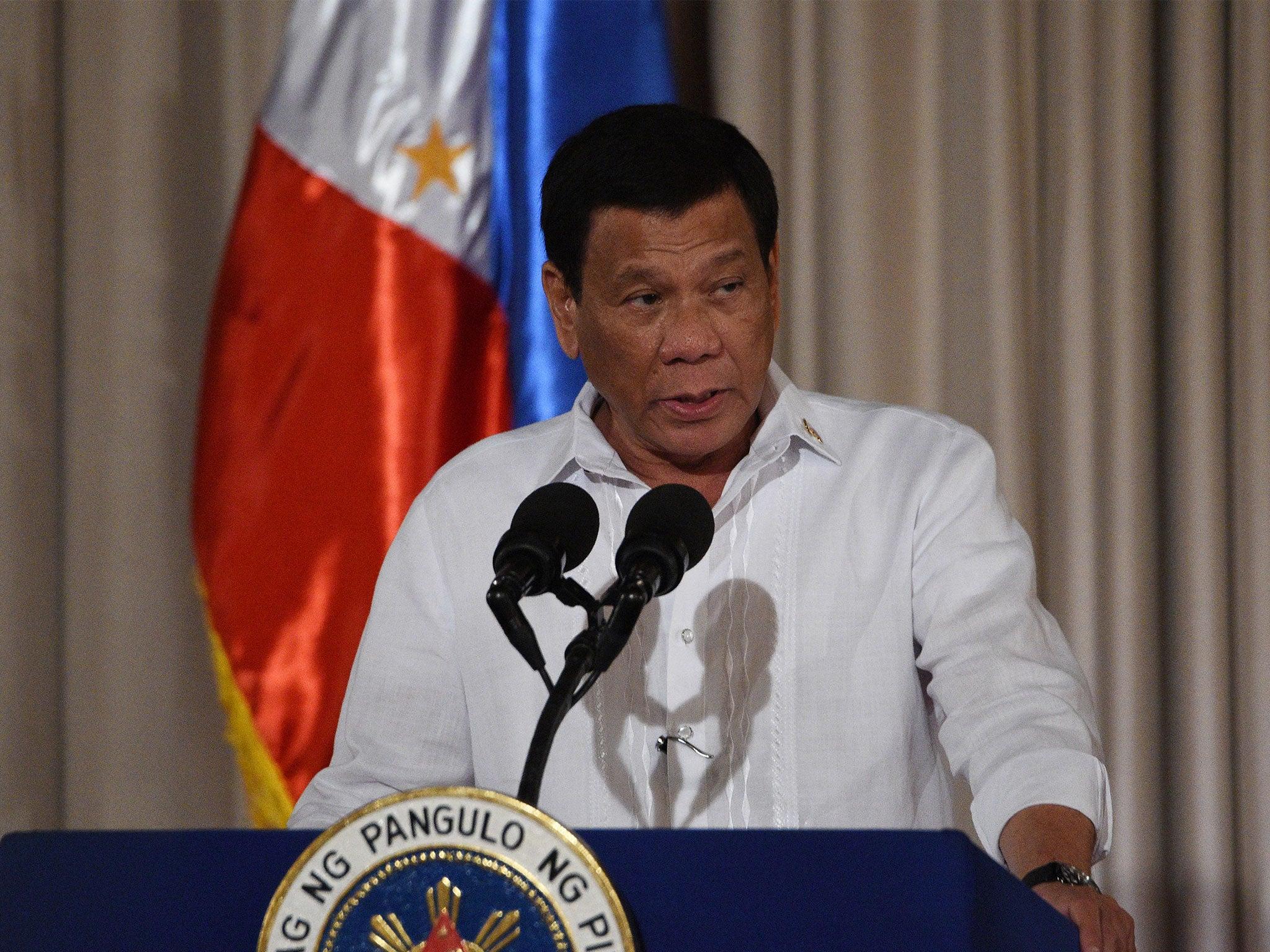 Rodrigo Duterte - latest news, breaking stories and comment