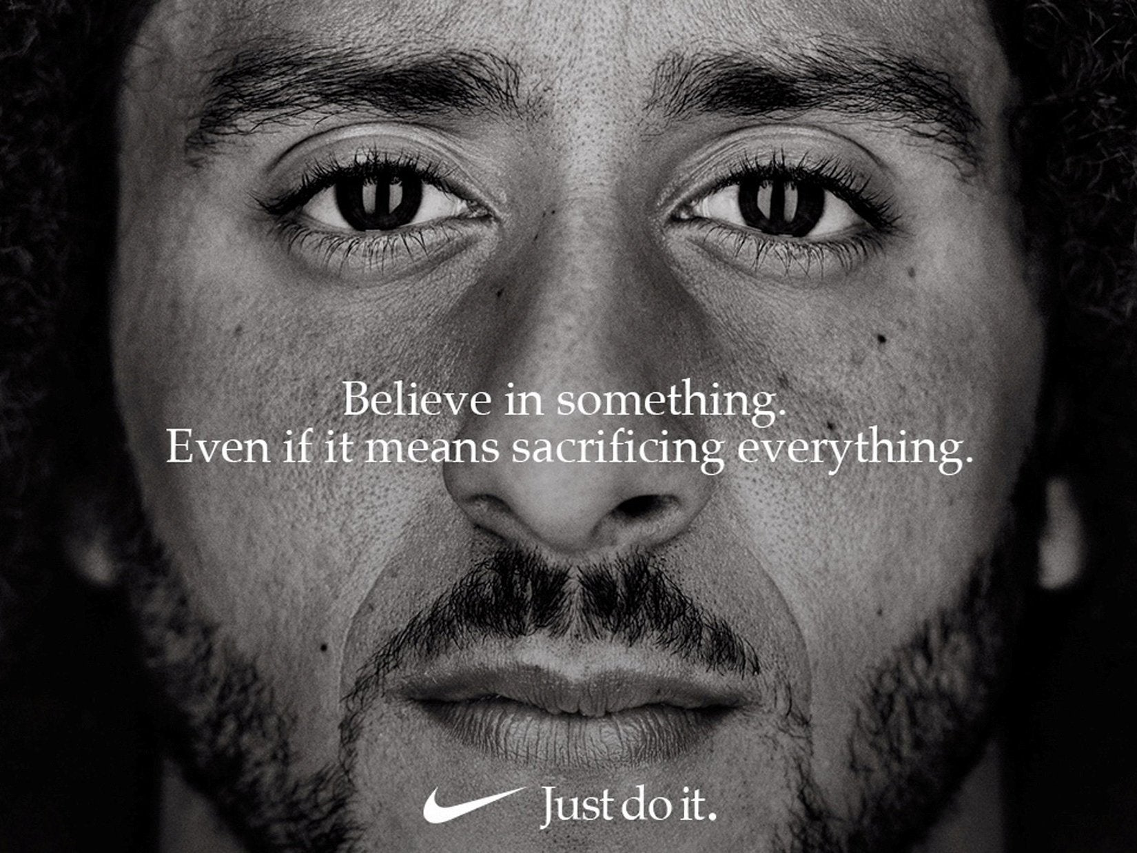 39942b596 Nike s new Colin Kaepernick ad is bold and brave in the face of MAGA ...