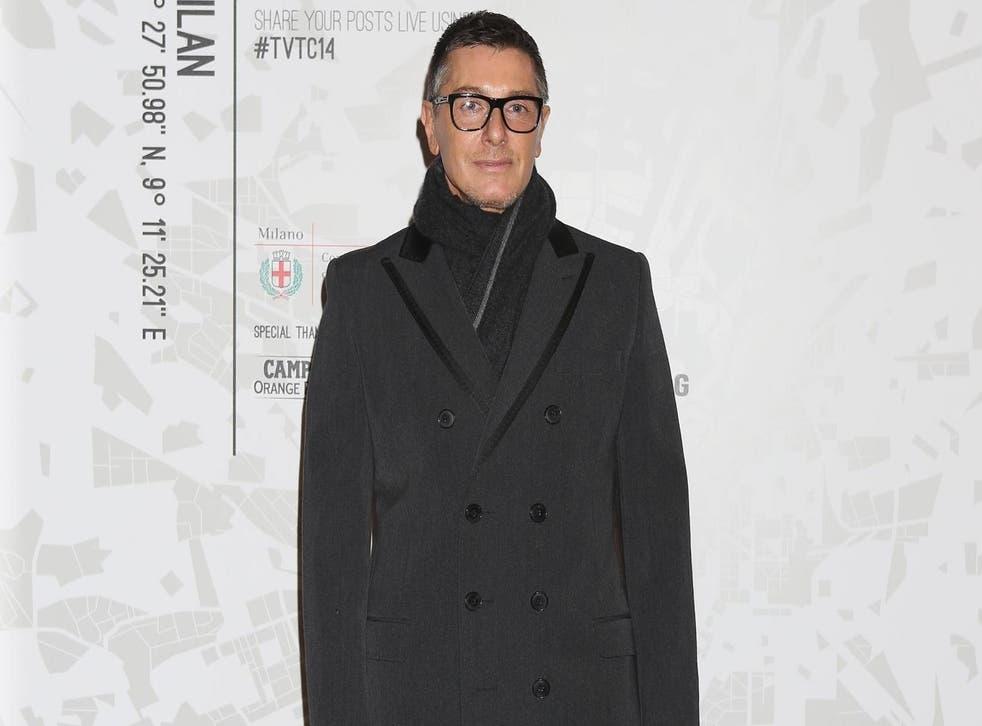 Stefano Gabbana calls blogger's wedding dress 'cheap' (Getty)