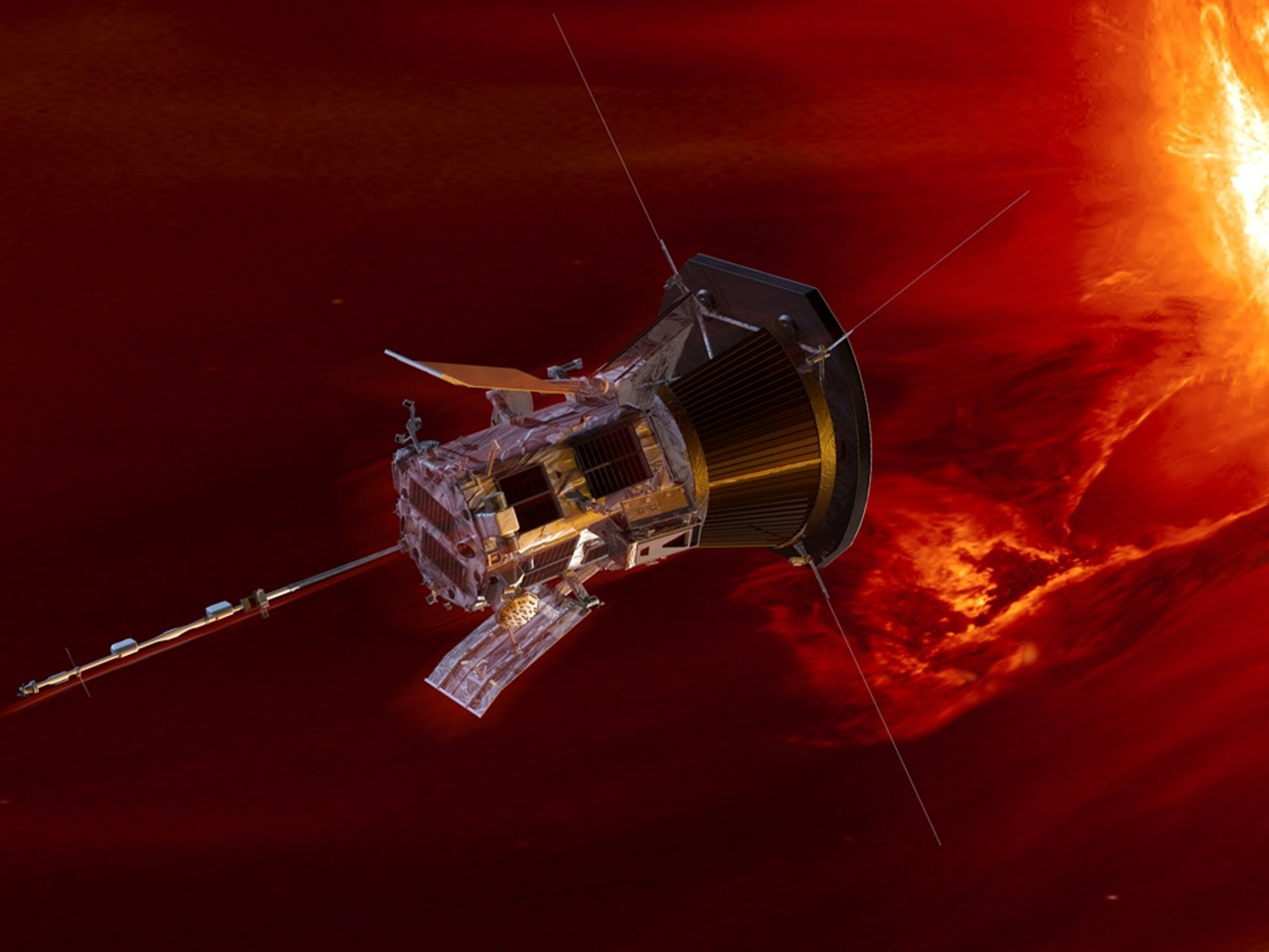 Nasa says Parker Solar Probe is closer to the Sun than anything before