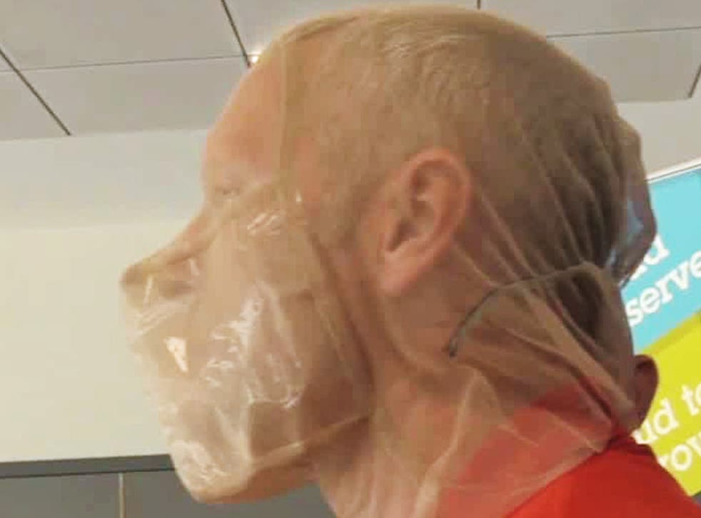 Spit hoods are used to prevent prisoners from biting or spitting on officers