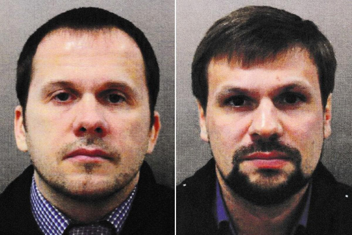 Image UK 'stands with' Czech Republic amid hunt for pair using names of Skripal poisoning suspects