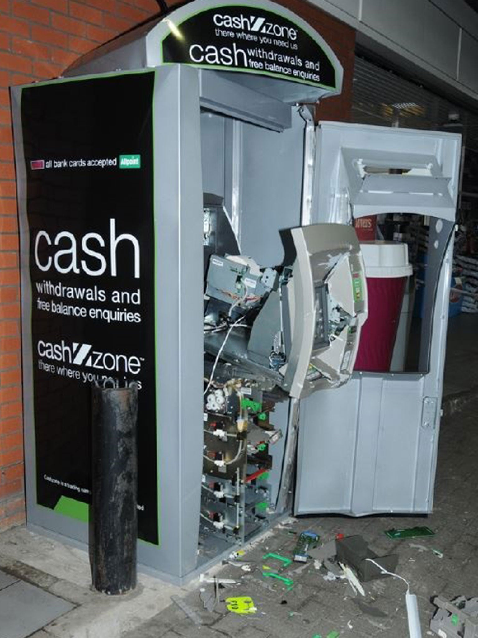 Thieves blowing up cash machines across UK in life-threatening trend ...