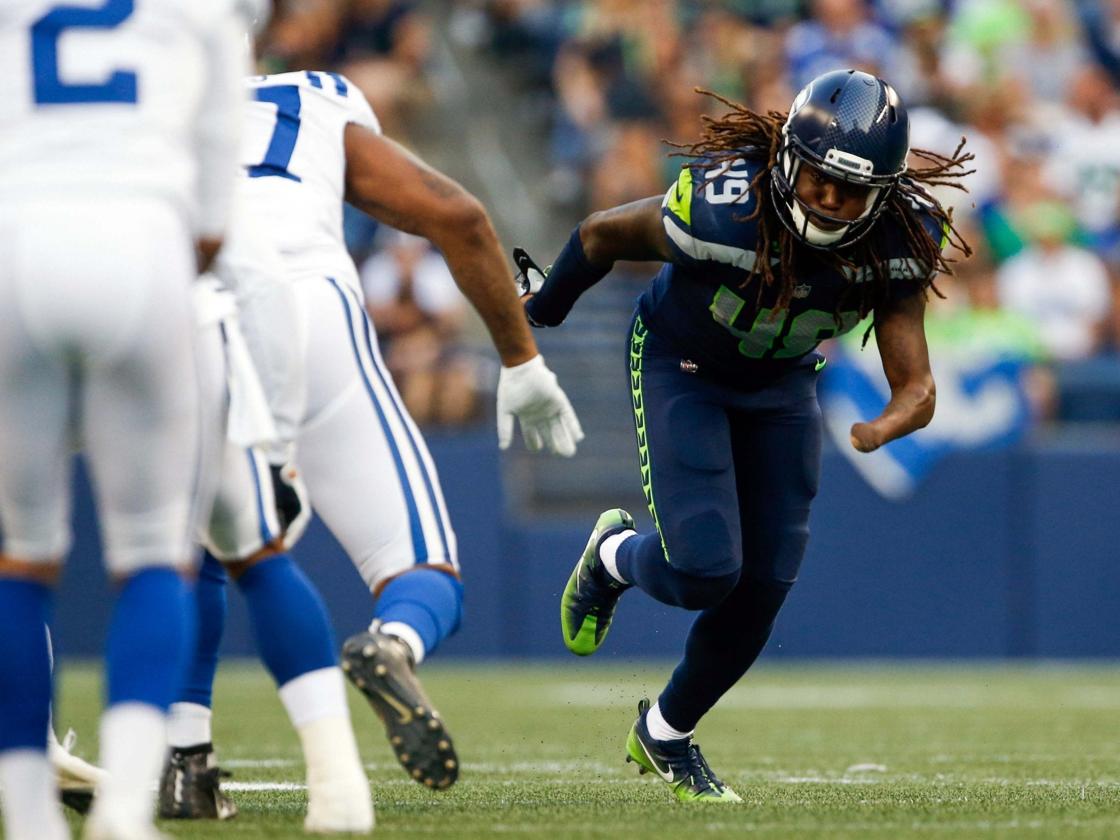 Nfl Seattle Seahawks Confirm One Handed Rookie Shaquem Griffin Will