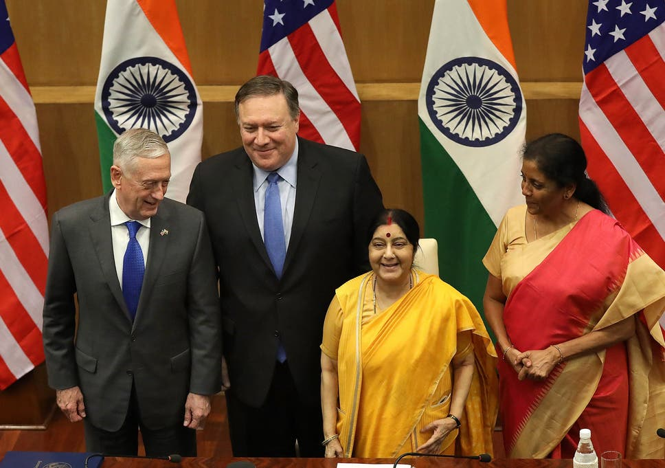 Us And India Sign Breakthrough Military Agreement Despite