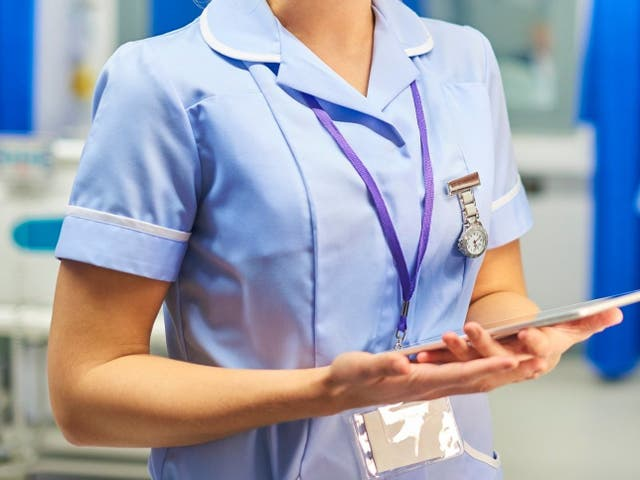 There has beena  jump in numbers of student nurses applications