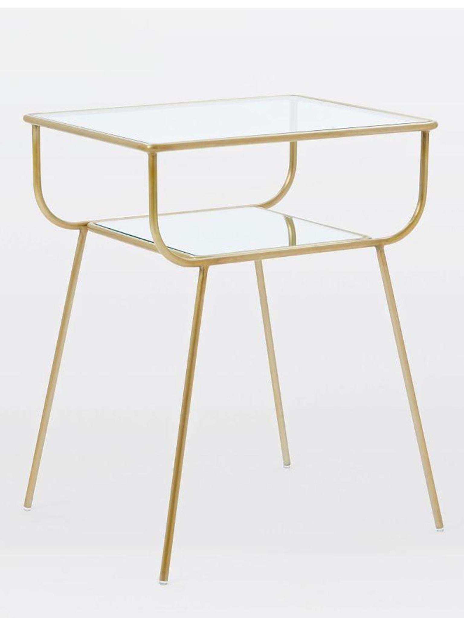 10 best bedside tables the independent curved terrace bedside table 199 westelm keyboard keysfo Images