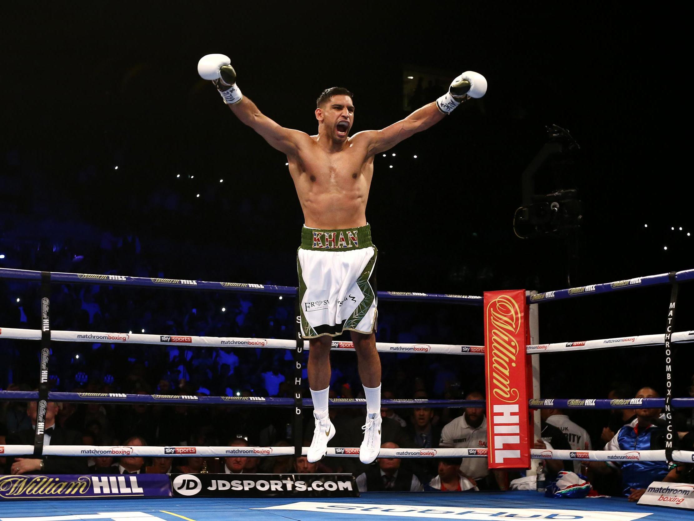 the 60 seconds that saved his boxing career  how amir khan