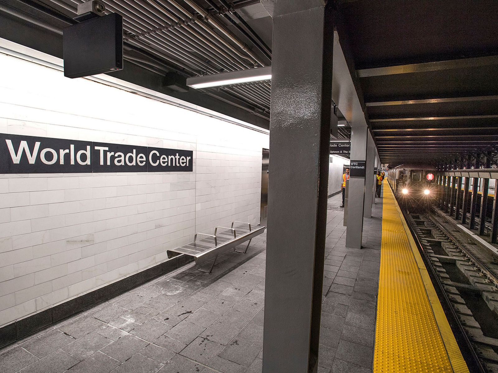 WTC Cortlandt: New York subway station destroyed in 9/11 ...