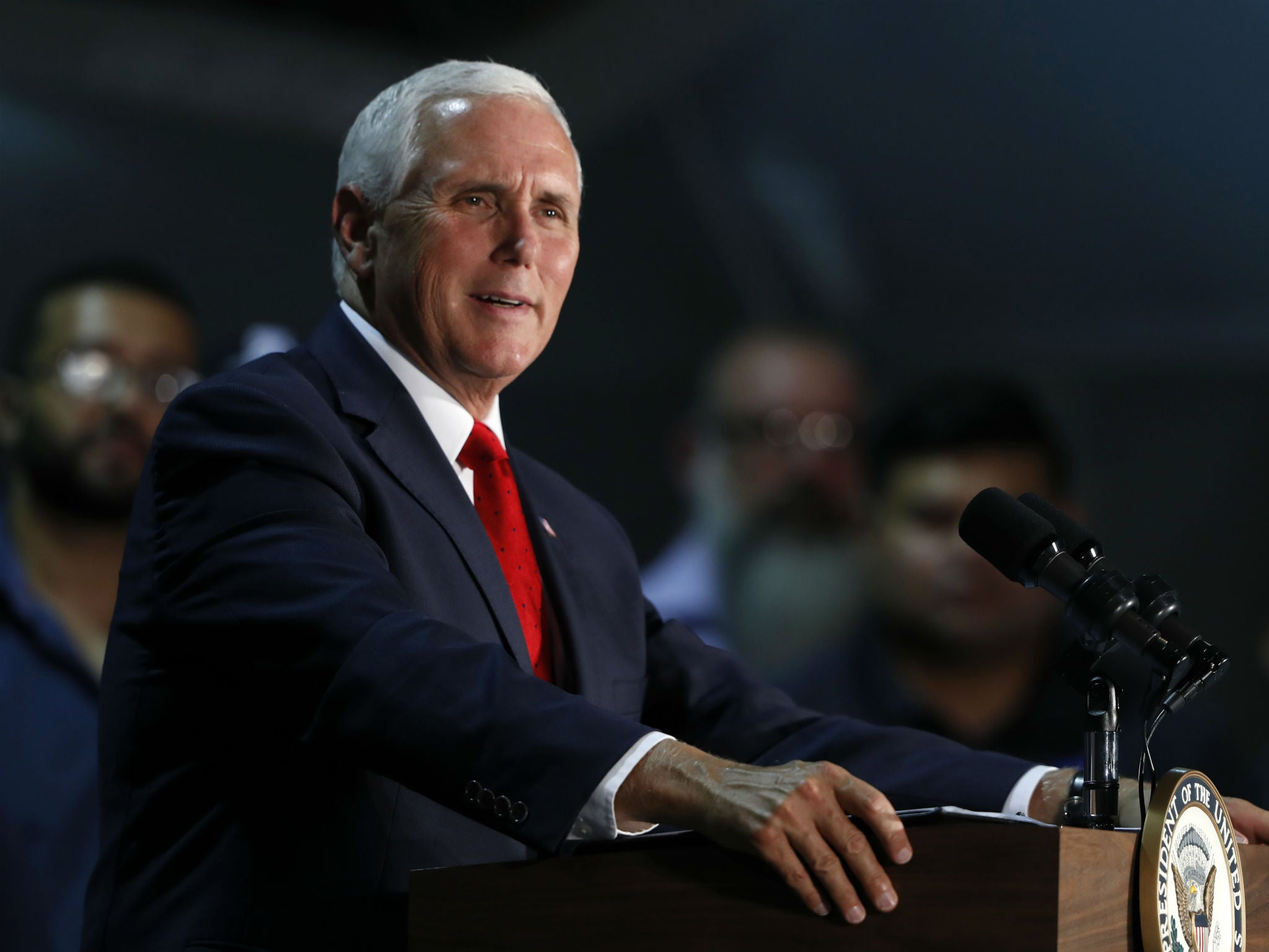 Mike Pence compares Trump's border wall stance to Martin Luther King's legacy
