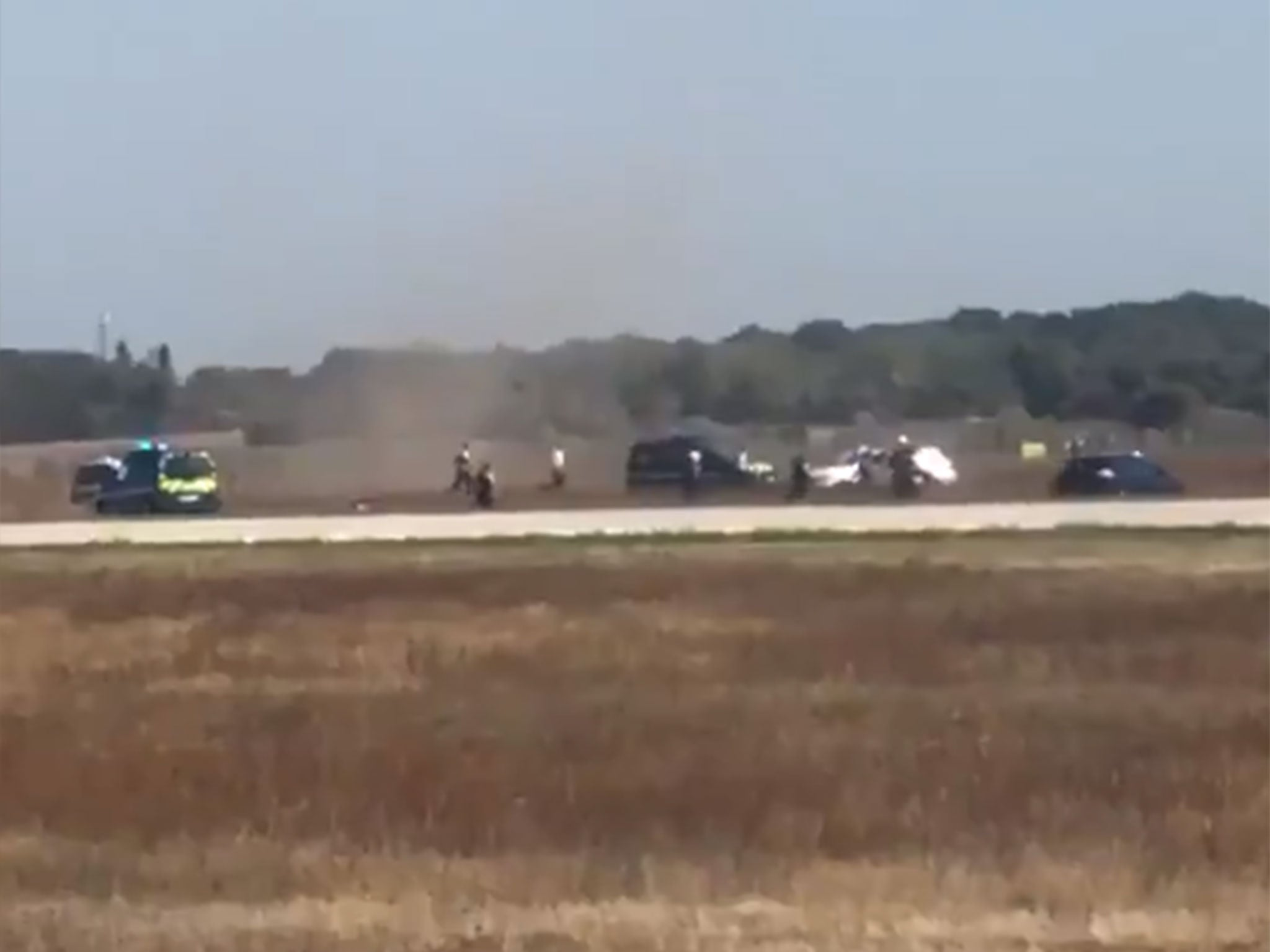 Lyon airport incident: High-speed car chase on runway forces