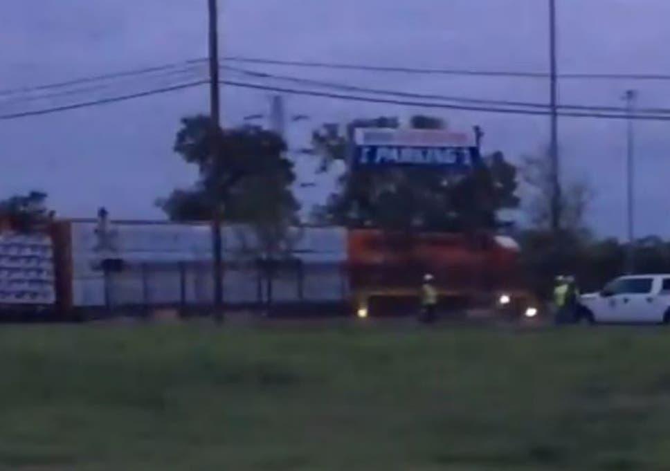 Dallas train derailment: At least three carriages leave tracks in