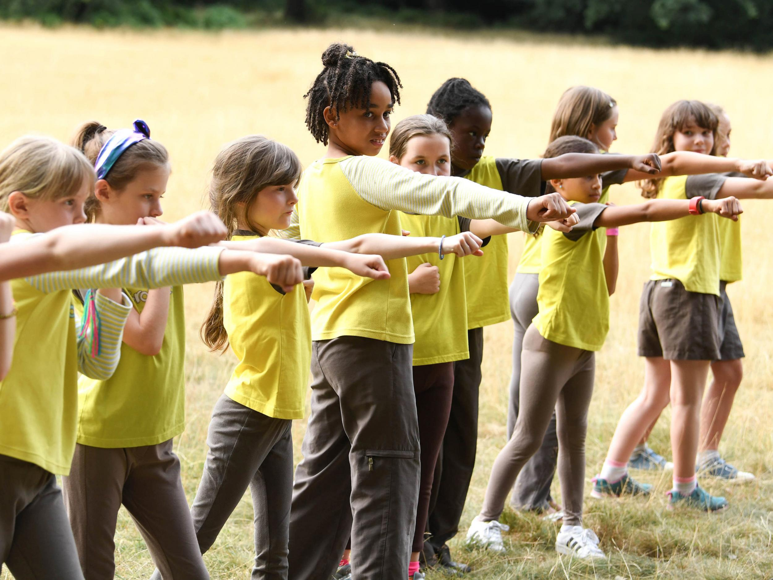 Girl Guides under fire over sponsorship deal with British Army
