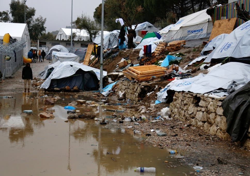 Greece's Moria refugee camp faces closure over 'uncontrollable
