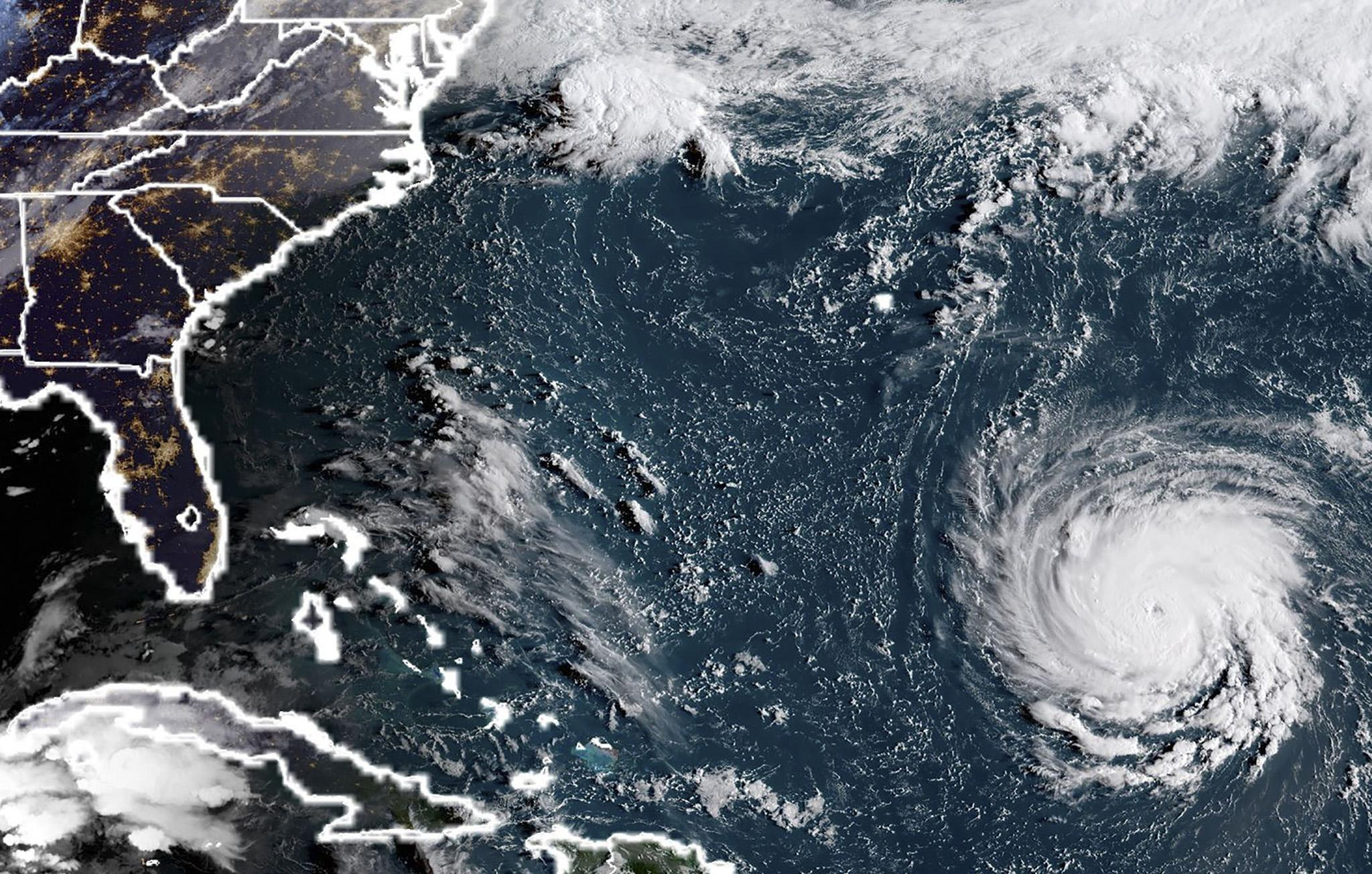 Hurricane Florence: How climate change is increasing the threat from tropical storms