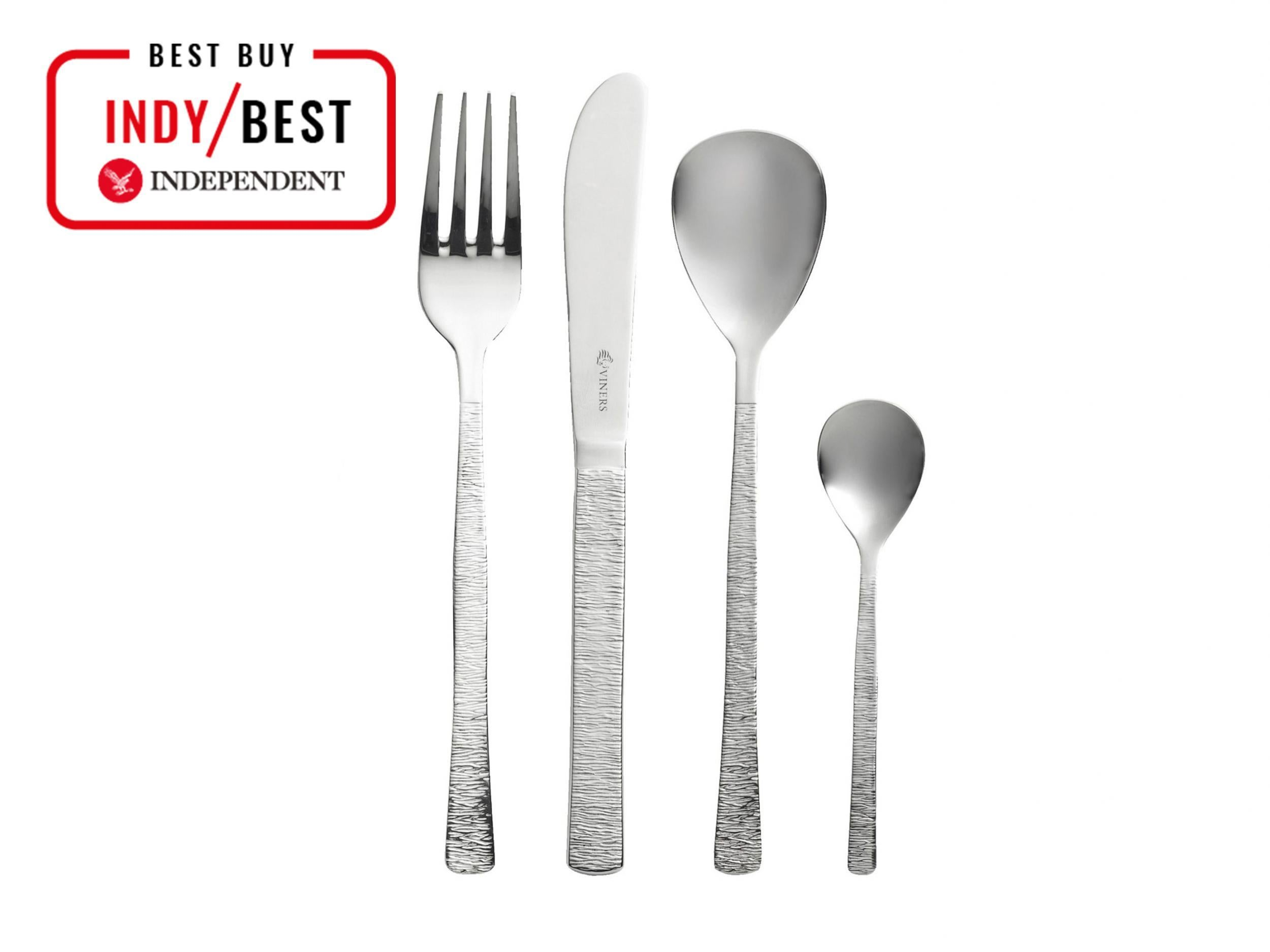 8b209dc9060ae Studio 18 10 16-piece Cutlery Set  £55