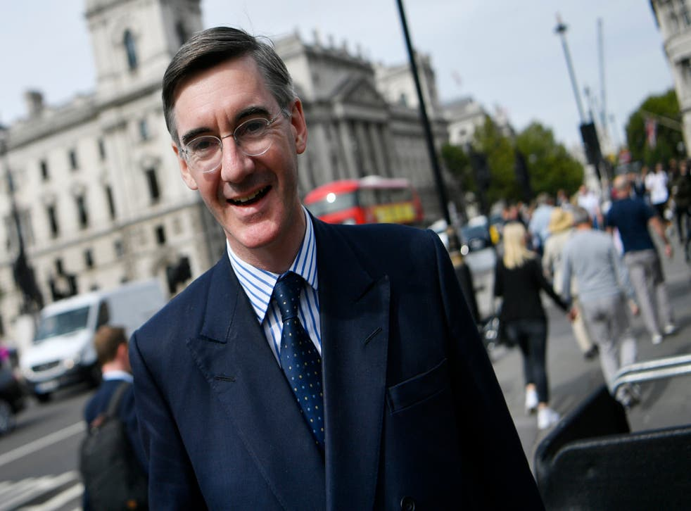 Jacob Rees-Mogg, one of the leaders of the 'full-fat' Brexit tendency in the Conservative Party, would be happy to leave and be treated just like any other non-EU country