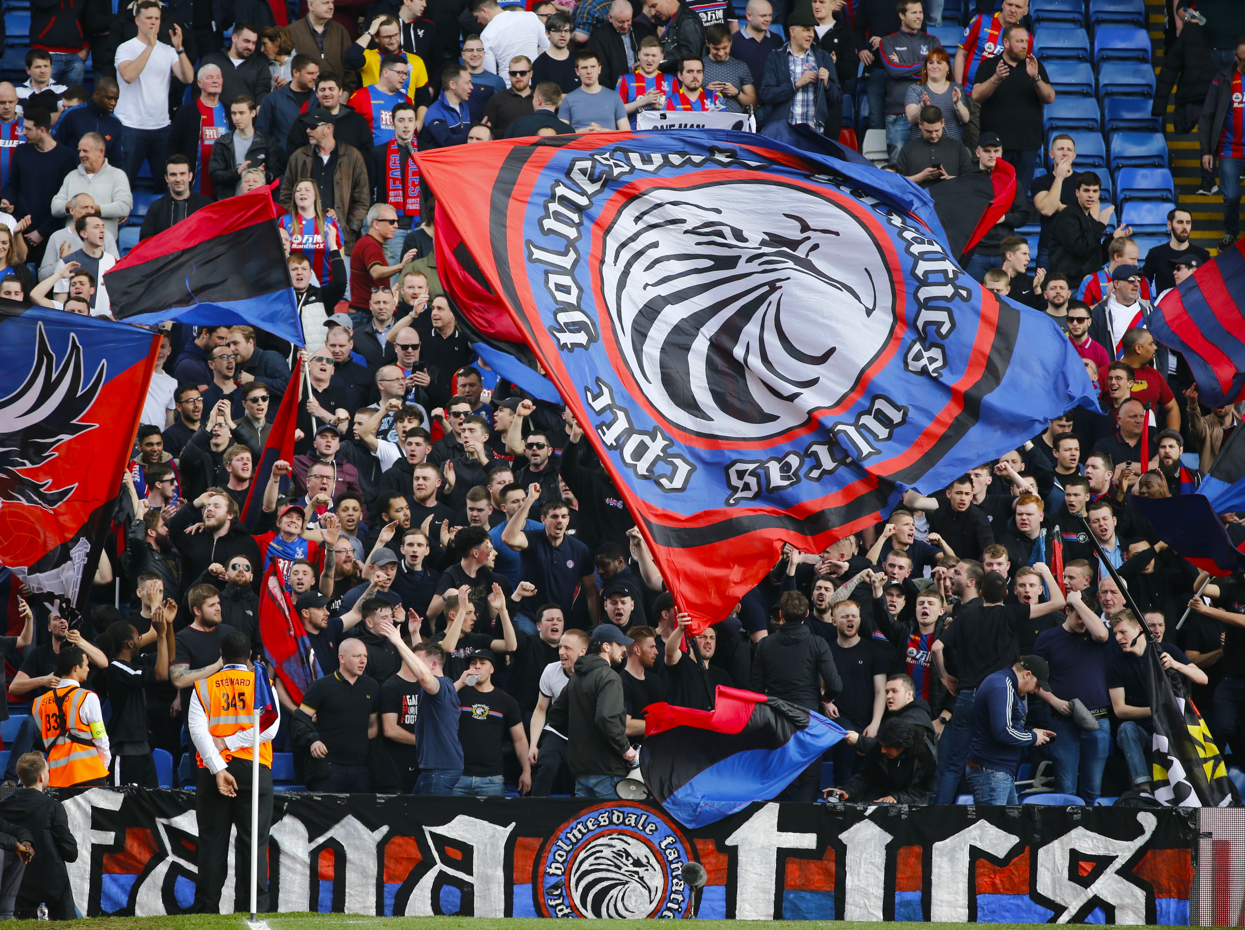 Crystal Palace 'ultras': How Holmesdale Fanatics' Bid To
