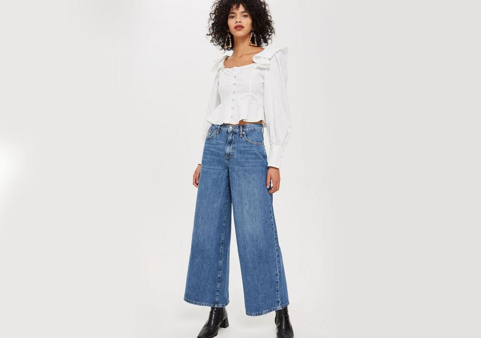 9227f7fe How to wear wide-leg jeans | The Independent