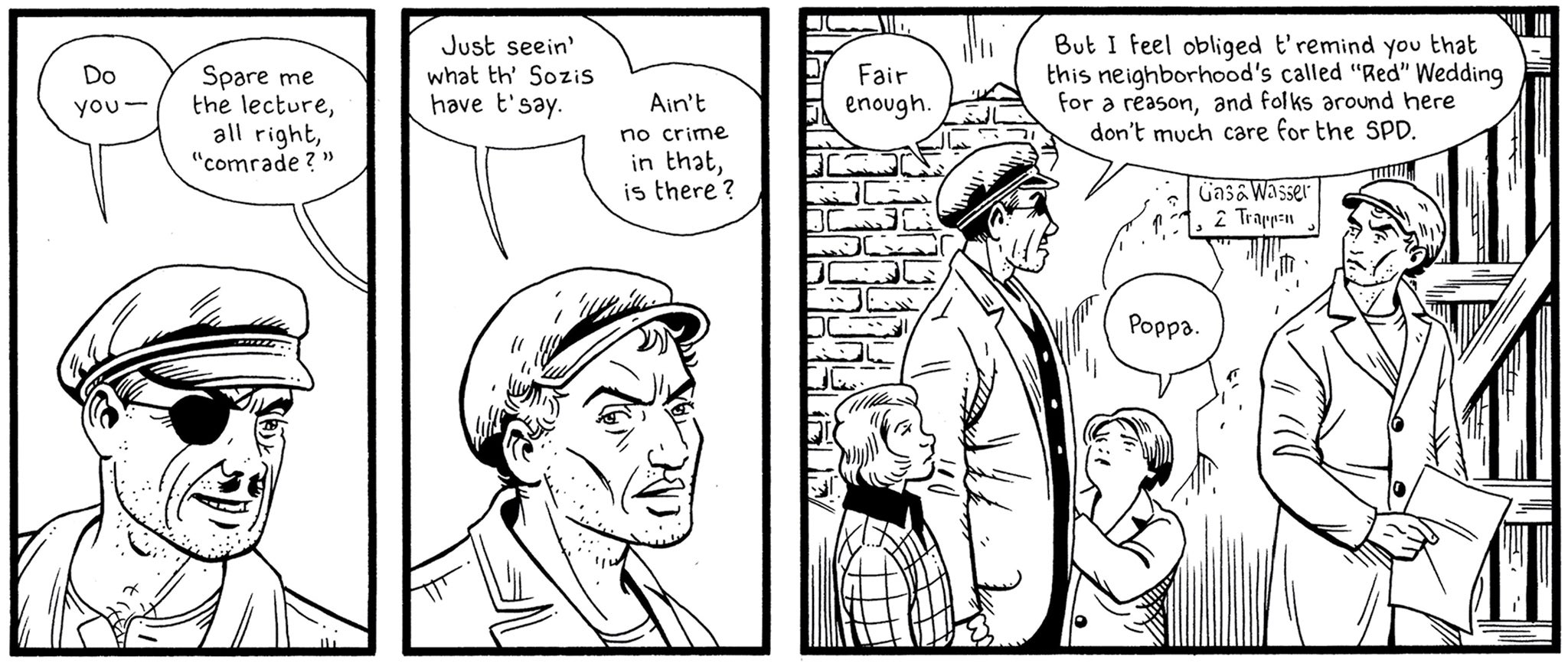 How a graphic novel written across two decades is comparing