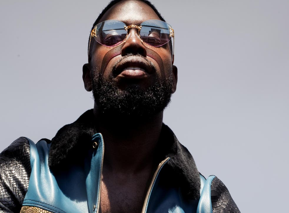 Ghetts has been nominated for an Ivor Novello for his song 'Black Rose'