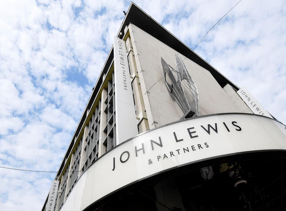 John Lewis: The retailer is trialling new ways of tempting shoppers away from their keyboards and screens
