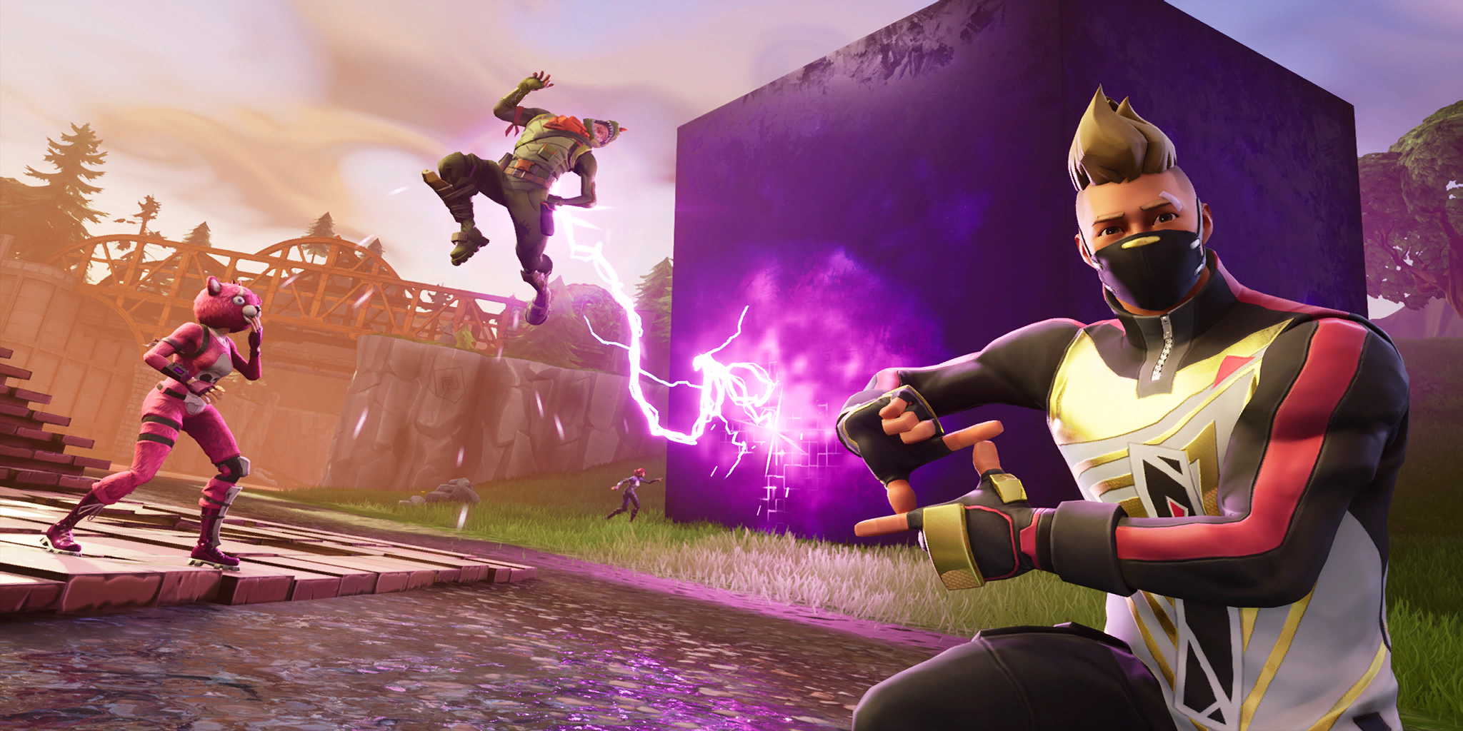 Fortnite Season 6 Leaks Explain Purple Cube Mystery And Likely