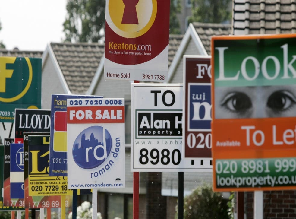 For sale: Buyers are biting in much of Britain but not in the capital
