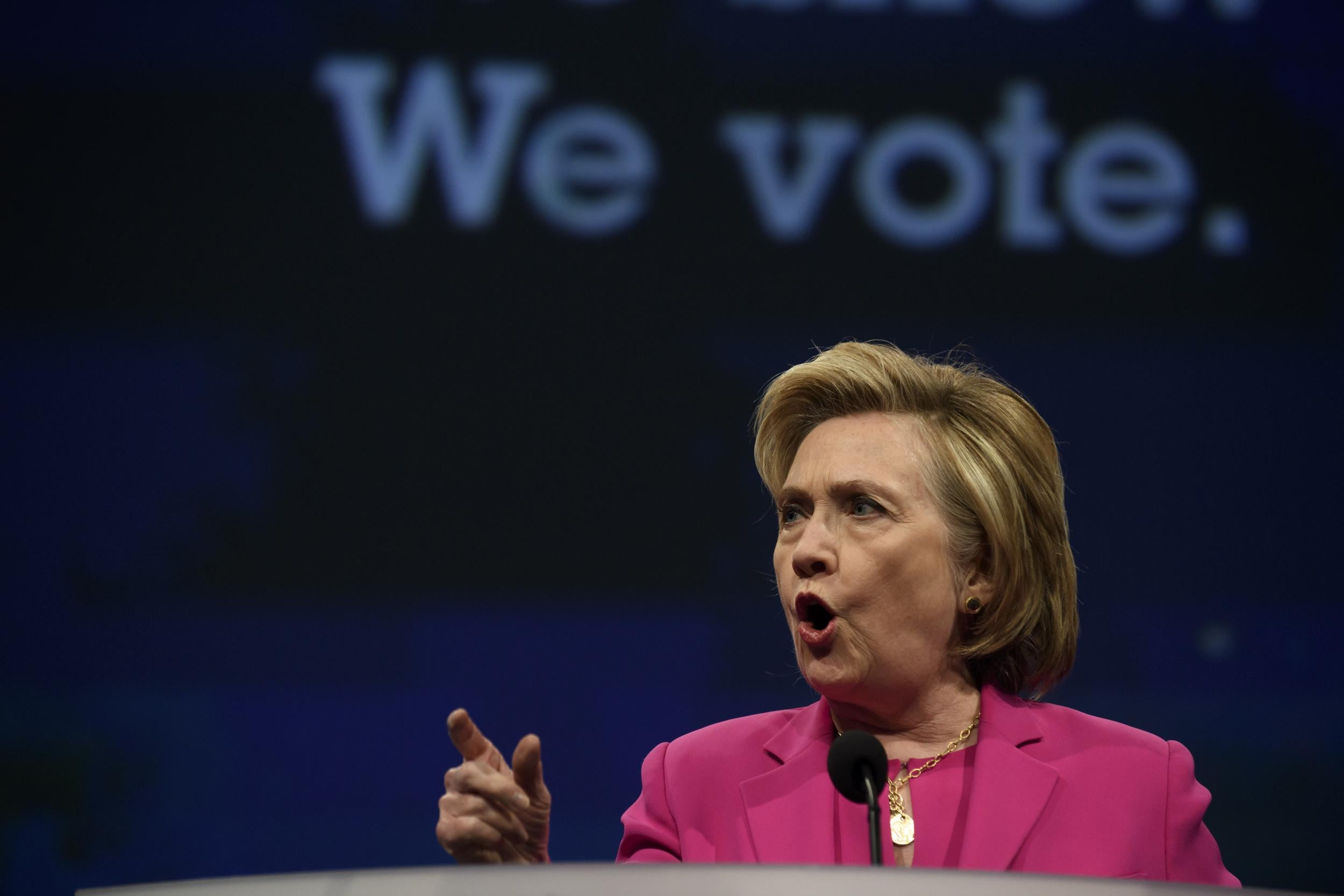 Hillary Clinton Claims American Democracy Is In Crisis In Searing