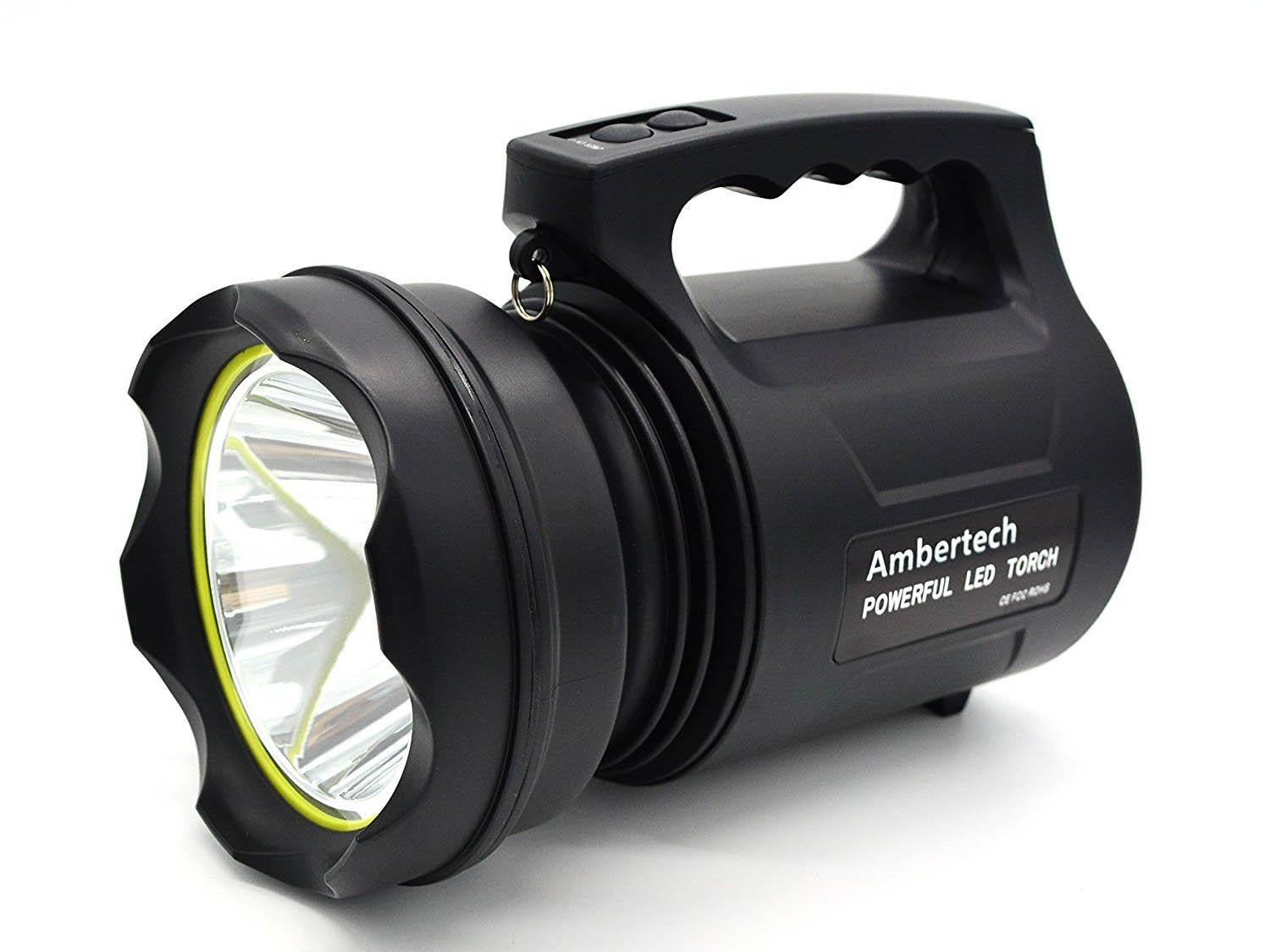 8 Best Torches The Independent Single Cell Led Flashlight Ambertech 10000 Torch 4599 Amazon