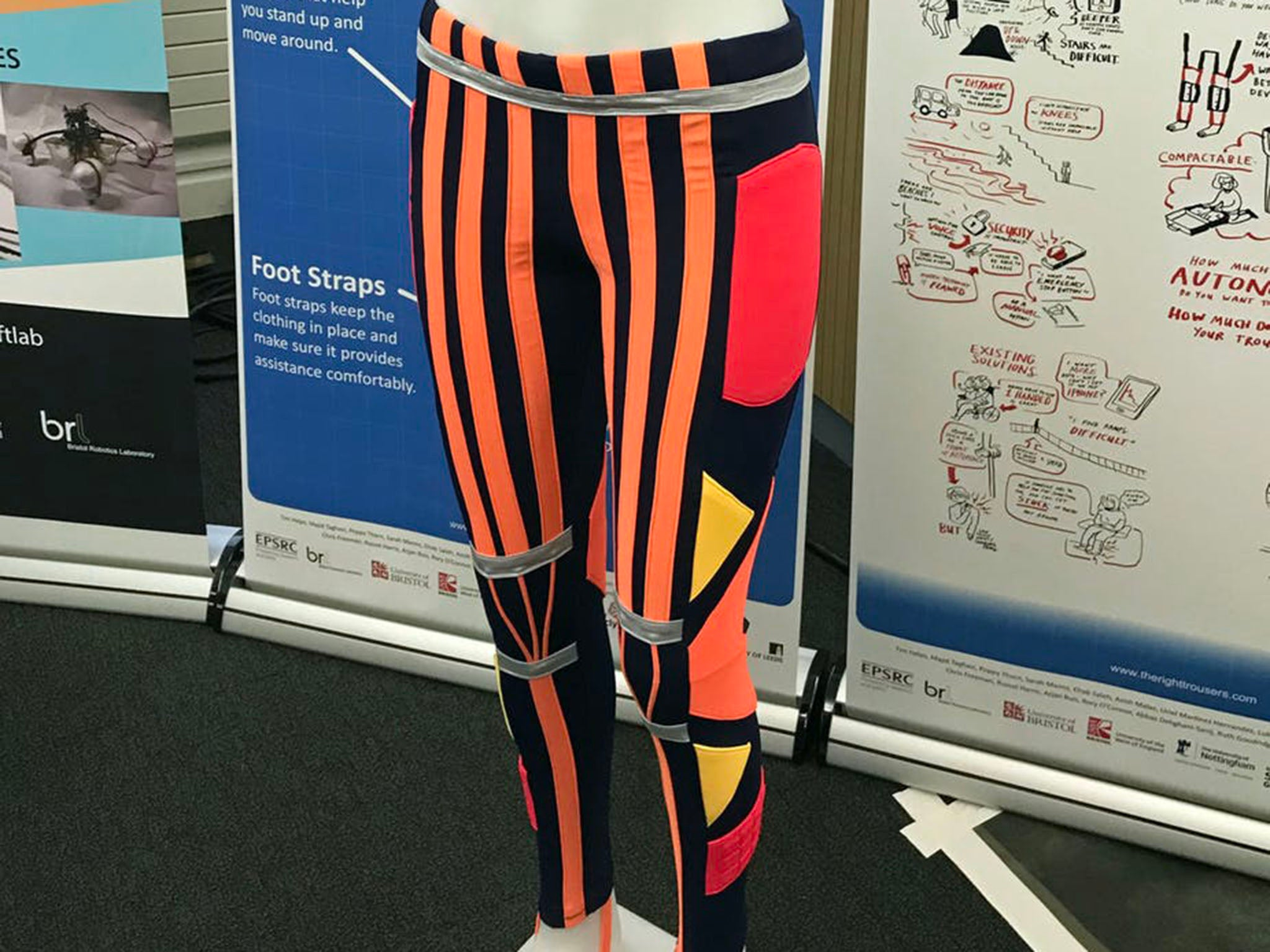 How these robotic trousers could help people walk again