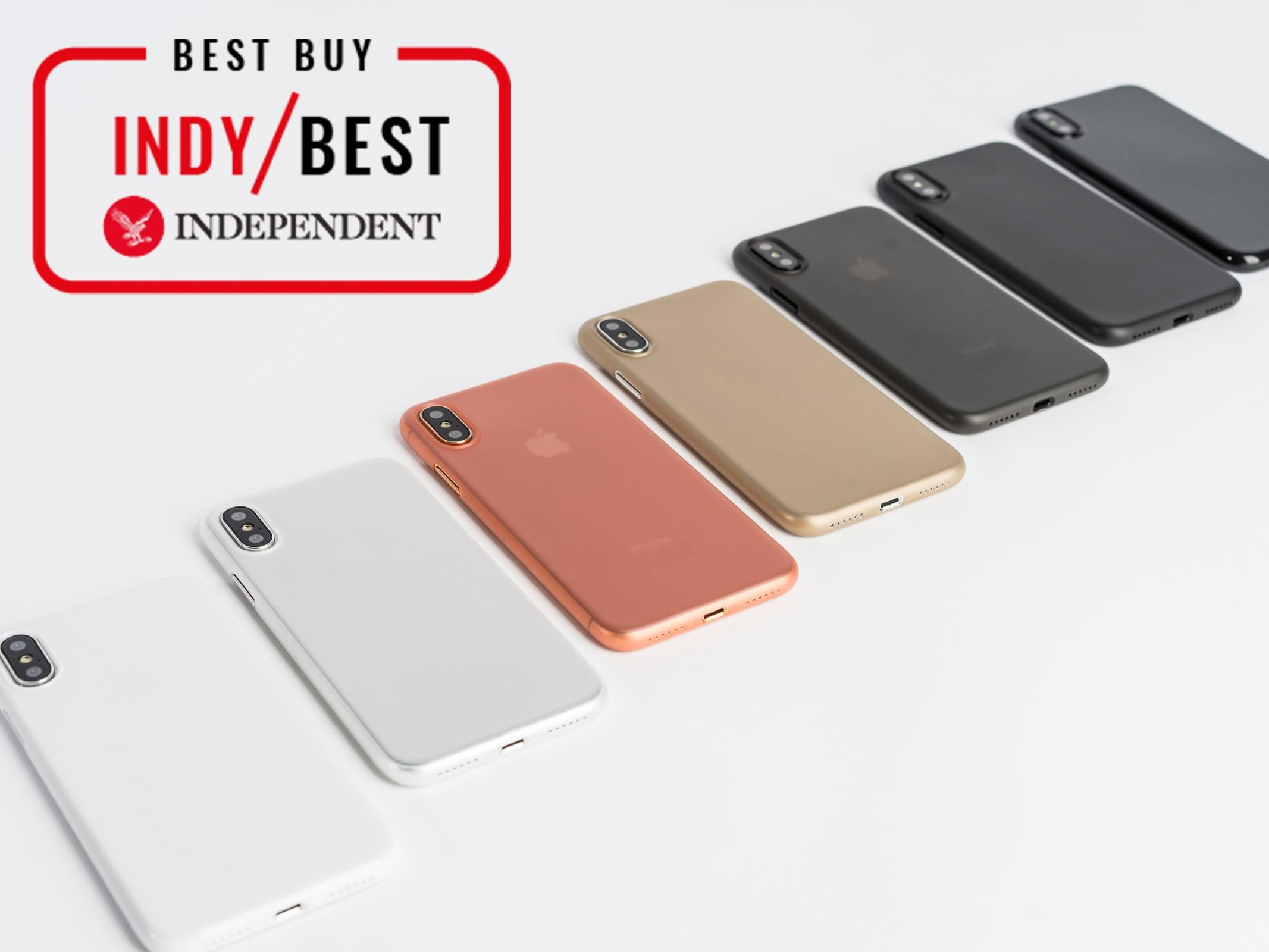 10 best iphone xs and xs max cases the independentpeel super thin iphone xs £19, peel